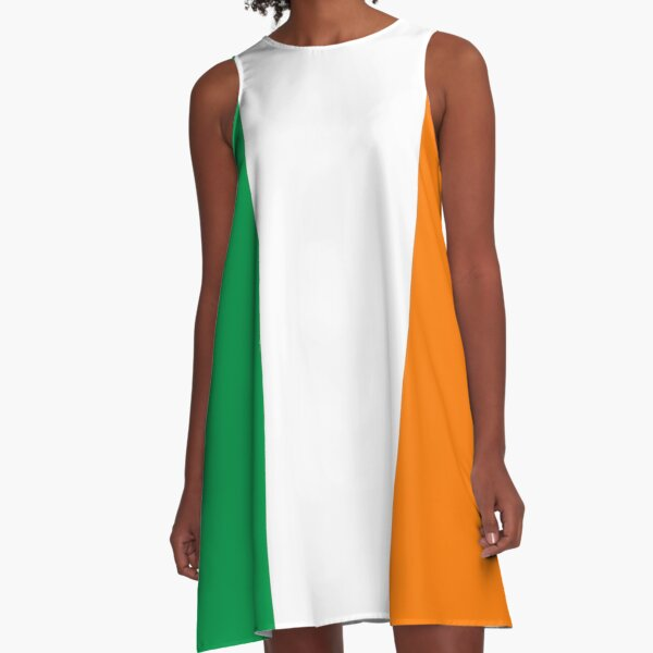 Ireland Flag - Irish T-Shirt A-Line Dress