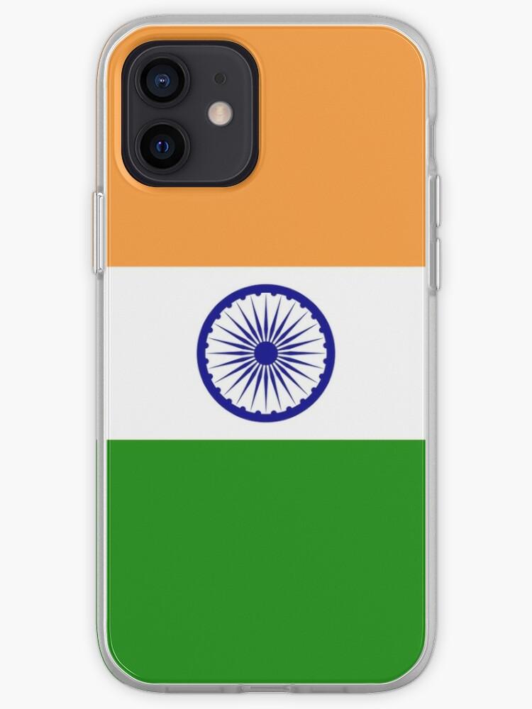 Housse de couette Drapeau Inde - Autocollant indien   Coque iPhone