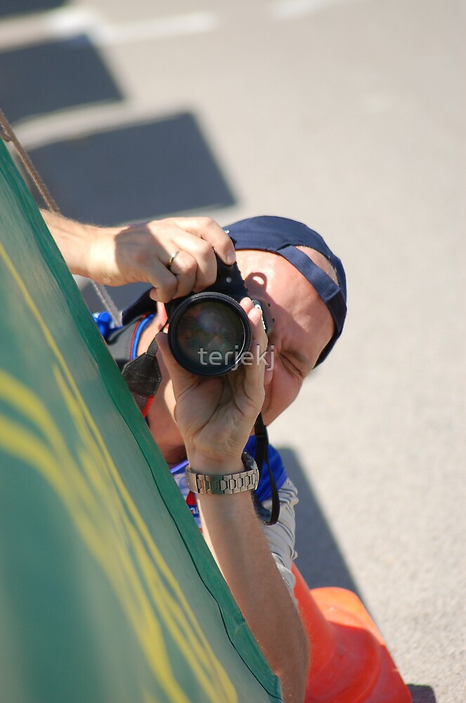 The Photographer at Work II by terjekj