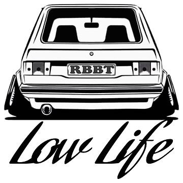 LOW LIFE VW TEE by chasemarsh