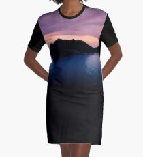 Hout Bay Sunset (South Africa) Graphic T-Shirt Dress