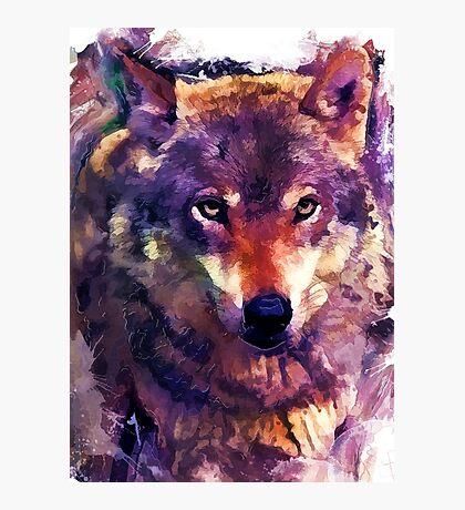 wolf art #wolf #animals Photographic Print