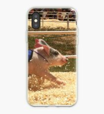 Pig Races iPhone Case