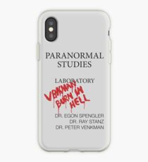 Paranormal Studies Laboratory - Ghostbusters iPhone Case