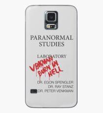 Labor für paranormale Studien - Ghostbusters Hülle & Klebefolie für Samsung Galaxy