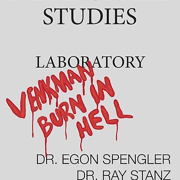 Paranormal Studies Laboratory - Ghostbusters by kempster