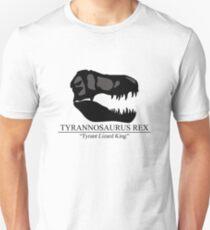 Tyrannosaurus Rex Skull T-Shirt