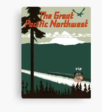 The Great Pacific Northwest Canvas Print