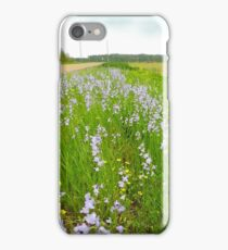 Wildflowers & Roadways iPhone Case/Skin