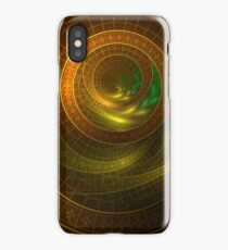 Inside the Boundless Cornucopia of an Endless Fractal Autumn iPhone Case