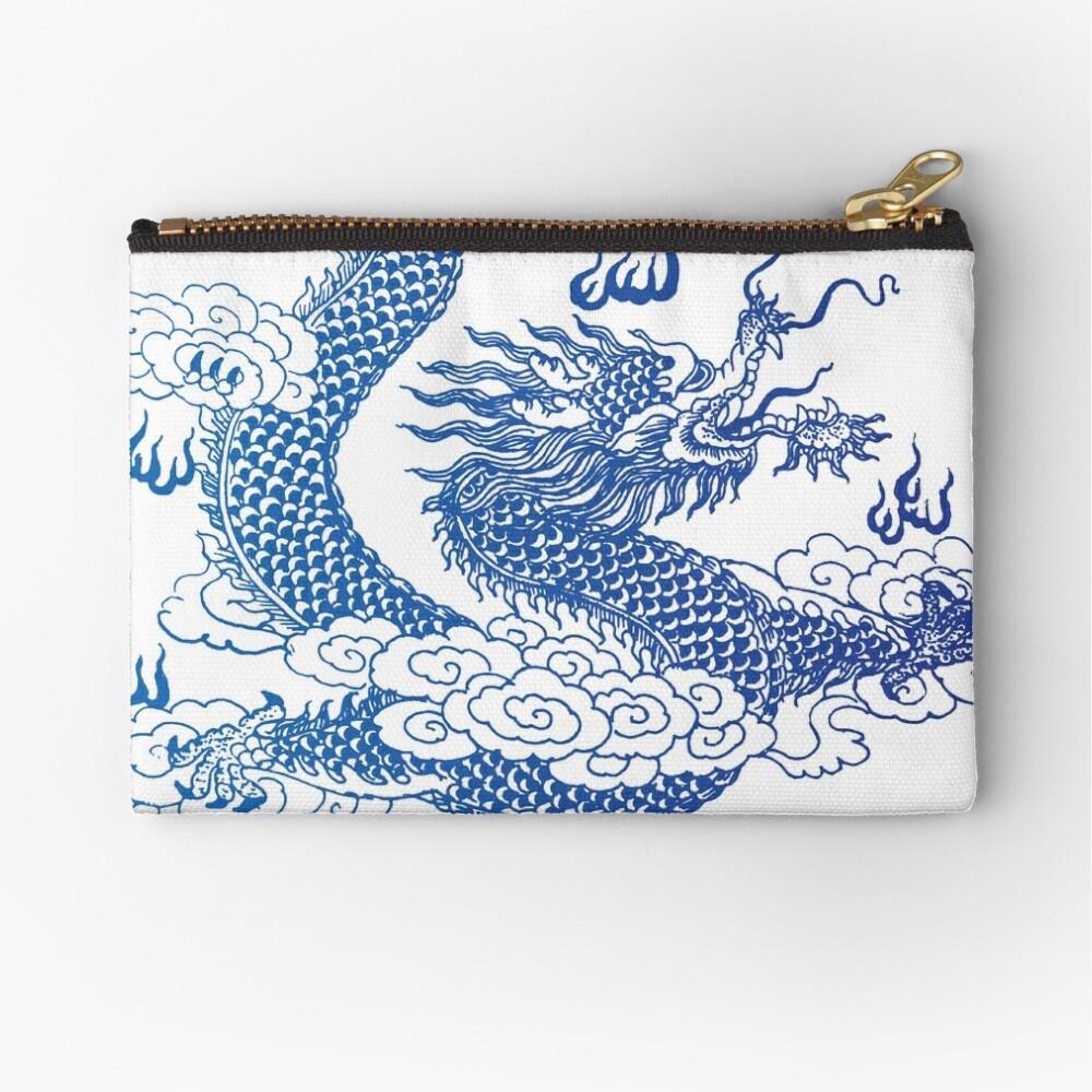 Awesome Asian Dragon Zipper Pouch