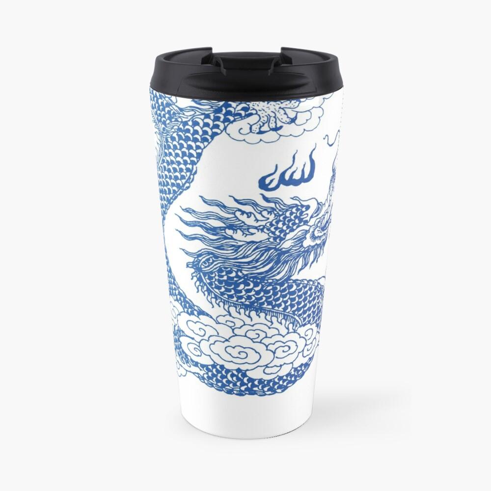 Awesome Asian Dragon Travel Mug