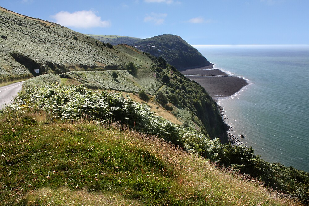 Coastal View  - Lynmouth North Devon by LaurenceA
