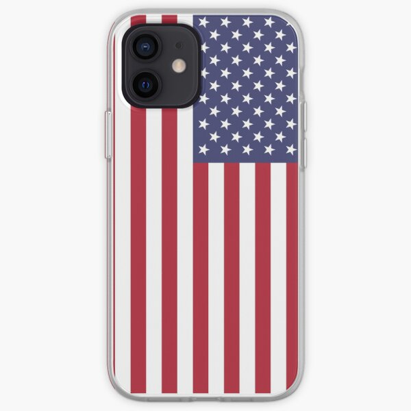 USA - American Flag - Cell Phone Cover iPhone Soft Case