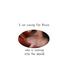 Caring Peace - Pregnancy clothes gift by Christophe J.A. Ranque