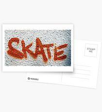 Skate Graffiti Postcards