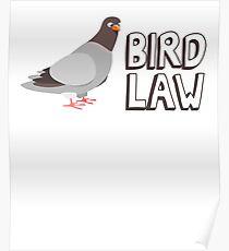 Bird Law Poster