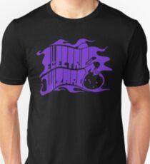 Band Electric Wizard Logo Purple Heart T-Shirt