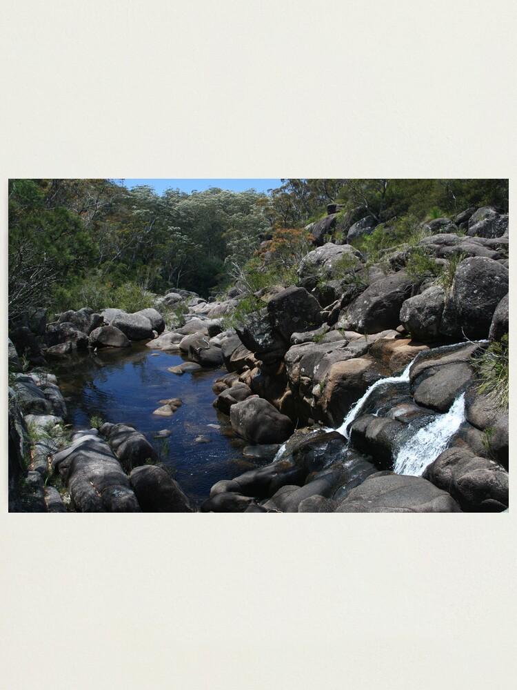 Alternate view of Gibralter Range National Park Photographic Print