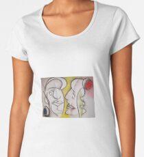 Love in Between Women's Premium T-Shirt