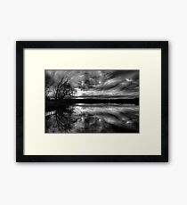 Glory - The Reflective Face. Framed Print