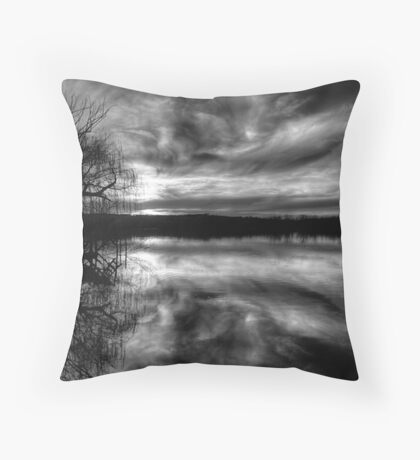 Glory - The Reflective Face. Throw Pillow