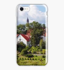 Shrine of St. Mary the Virgin Queen of Krajna in Byszewo, Poland iPhone Case/Skin