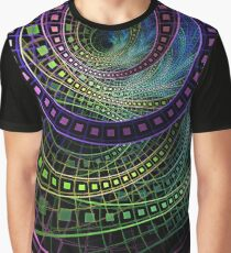 The Fractal Technicolor Rainbow of Oz the Great and Powerful Graphic T-Shirt