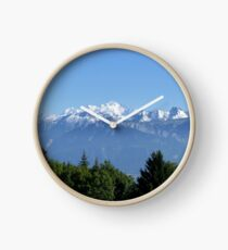 French Alps Clock