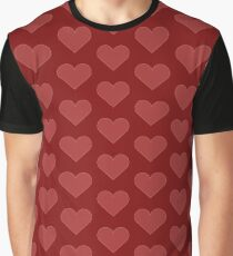 Heart - Red (B3) Graphic T-Shirt