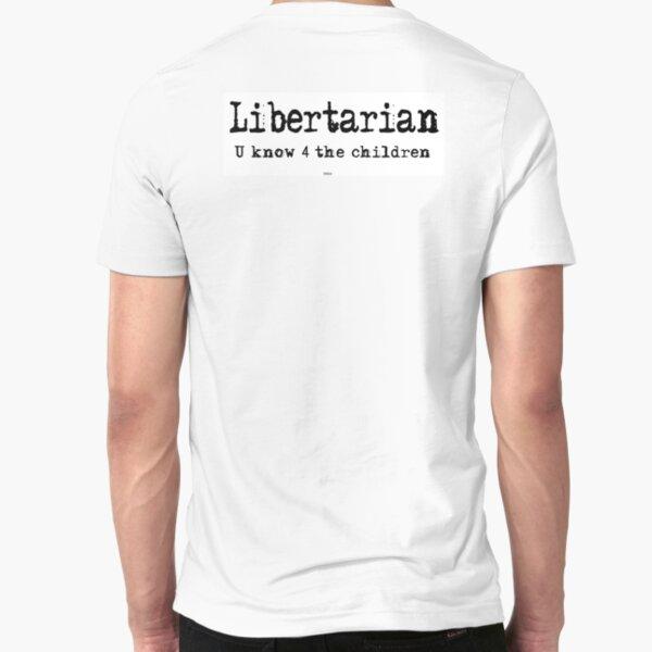 Libertarian 3 Slim Fit T-Shirt
