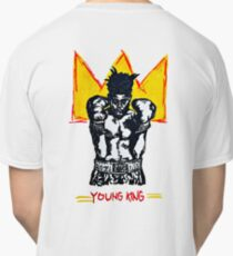 YOUNG KING - Jean Michel Basquiat inspired original artwork Classic T-Shirt