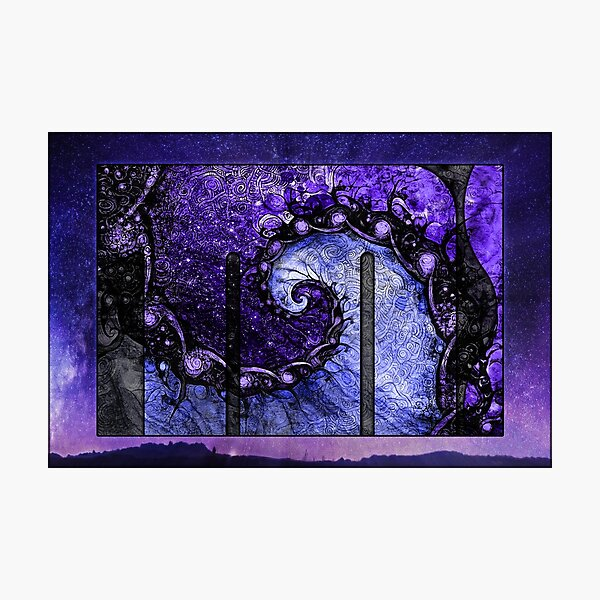 Nocturne of Scorpio -- Fractal Astrology Photographic Print