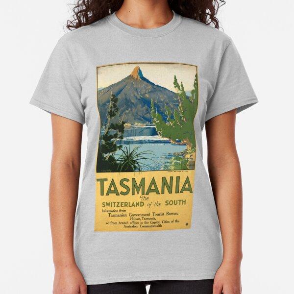 Vintage poster -Tasmania Classic T-Shirt