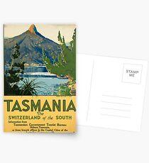 Vintage poster -Tasmania Postcards