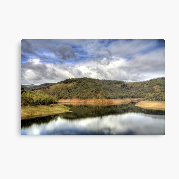 Kangaroo Creek Reservoir, South Australia Metal Print