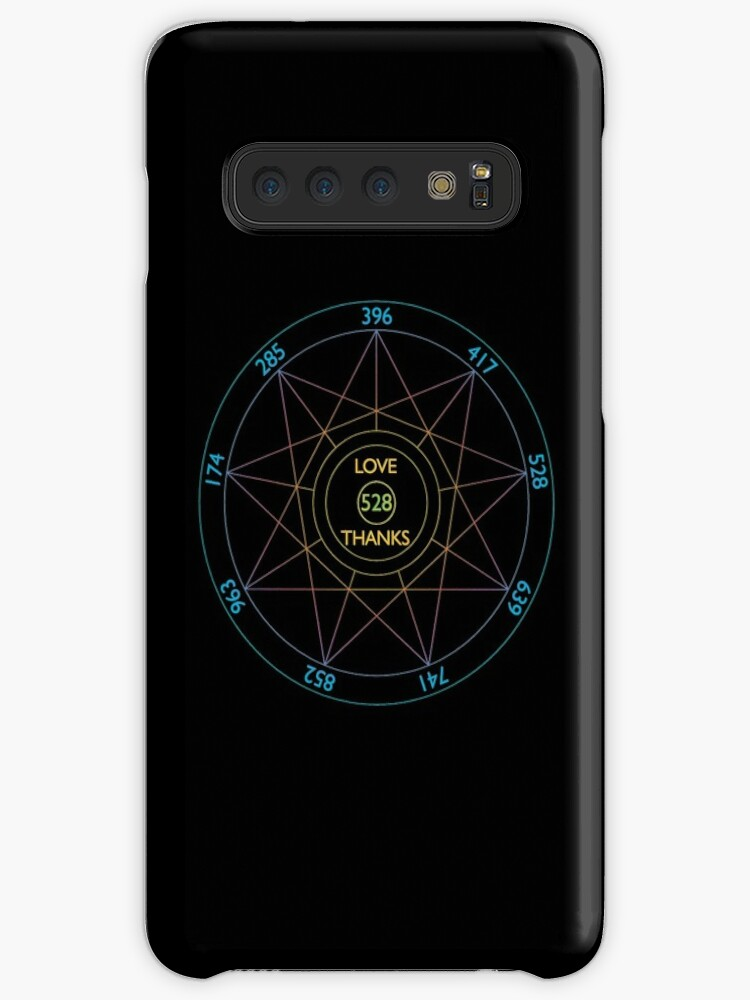 '528 Hz Love Frequency Solfeggio Frequencies' Case/Skin for Samsung Galaxy  by Super Merch