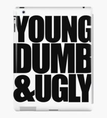 Weird Al - Young Dumb & Ugly (in Black) iPad Case/Skin