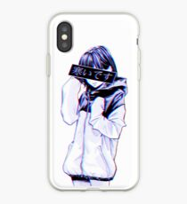 COLD - Sad Japanese Aesthetic iPhone Case