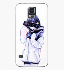 KALT - Traurige japanische Ästhetik Hülle & Klebefolie für Samsung Galaxy