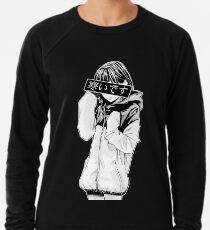FROID (Noir et blanc) - Esthétique japonaise triste Sweatshirt léger