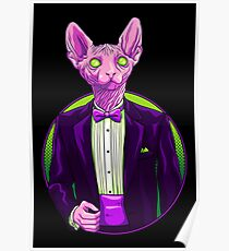 Business Sphynx Poster