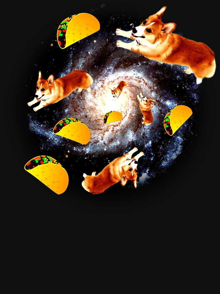 Corgi Taco Galaxy - Funny Corgi by ClineProducts