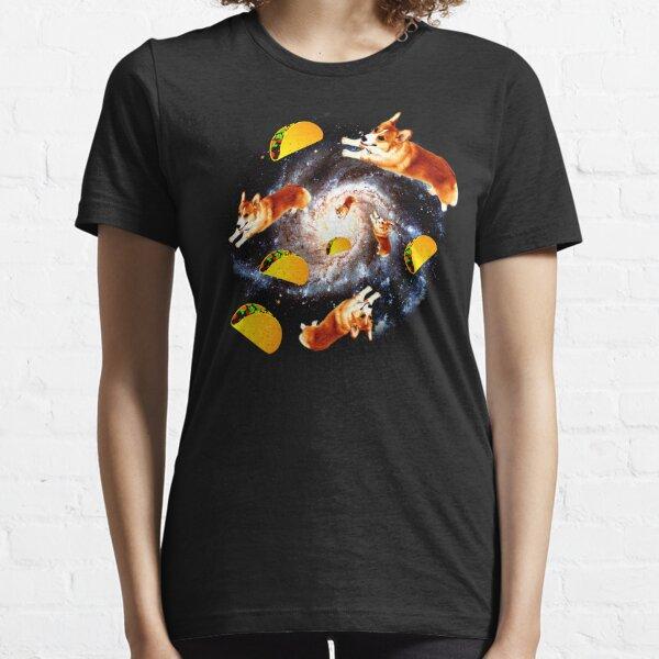 Corgi Taco Galaxy - Funny Corgi Camiseta esencial