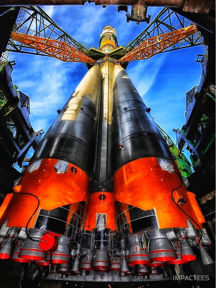 Soyuz Rocket  by IMPACTEES