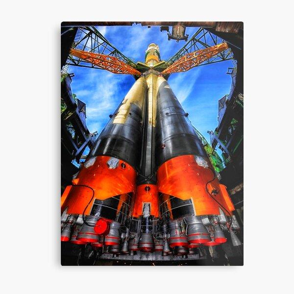 Soyuz Rocket  Metal Print