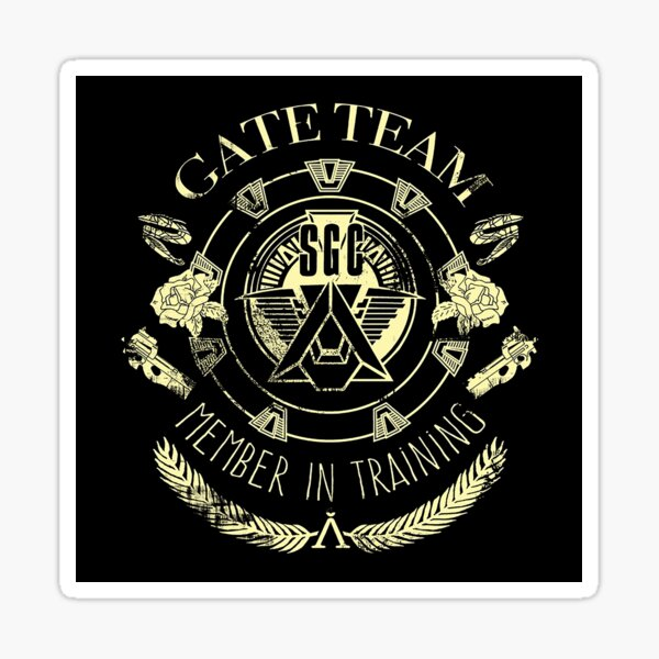 Gate Team SGC en formation Sticker