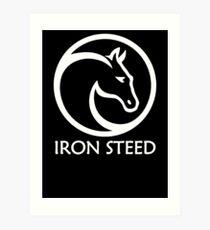 Iron Steed Art Print