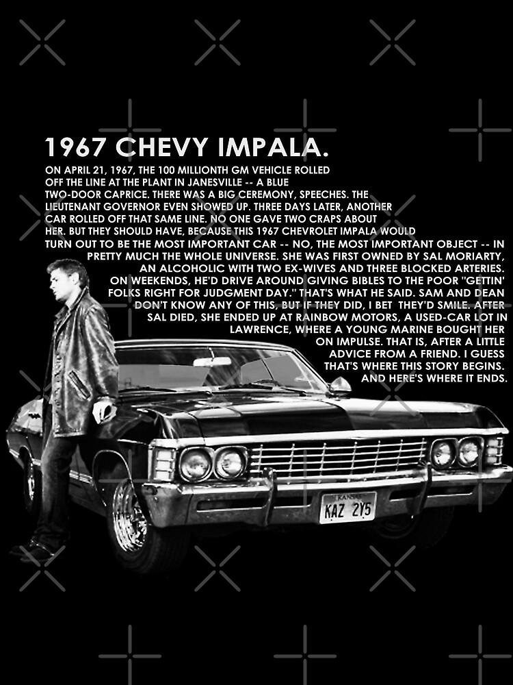 1967 Chevy Impala Postkarte Von Abcmaria Redbubble