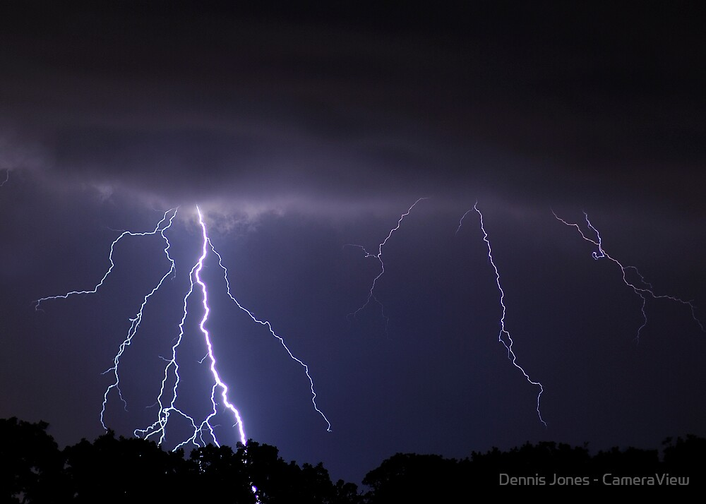 Late Summer Lightning by Dennis Jones - CameraView